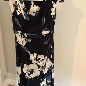 Lauren Ralph Lauren Floral Pattern Dress